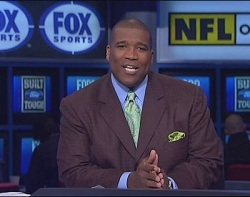 nfl on fox host curt menefee