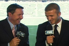 david beckham soccer analyst