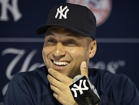 derek jeter yankees sports personality canned answer man
