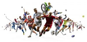 different sports players